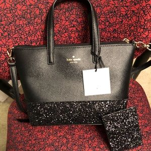Kate Spade purse with matching cardholder